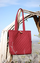 Sam Harvey Handbag, Desert Vineyard, quilted bag